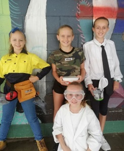 Occupation Dress Up Fun at Noosaville State School