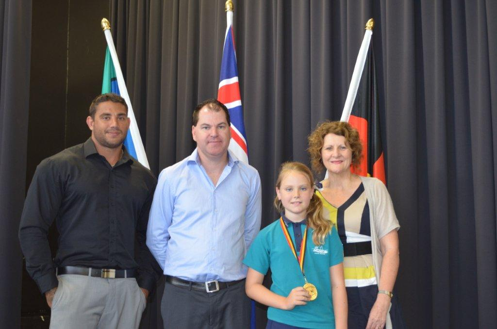 Ava wins Prime Ministers medal